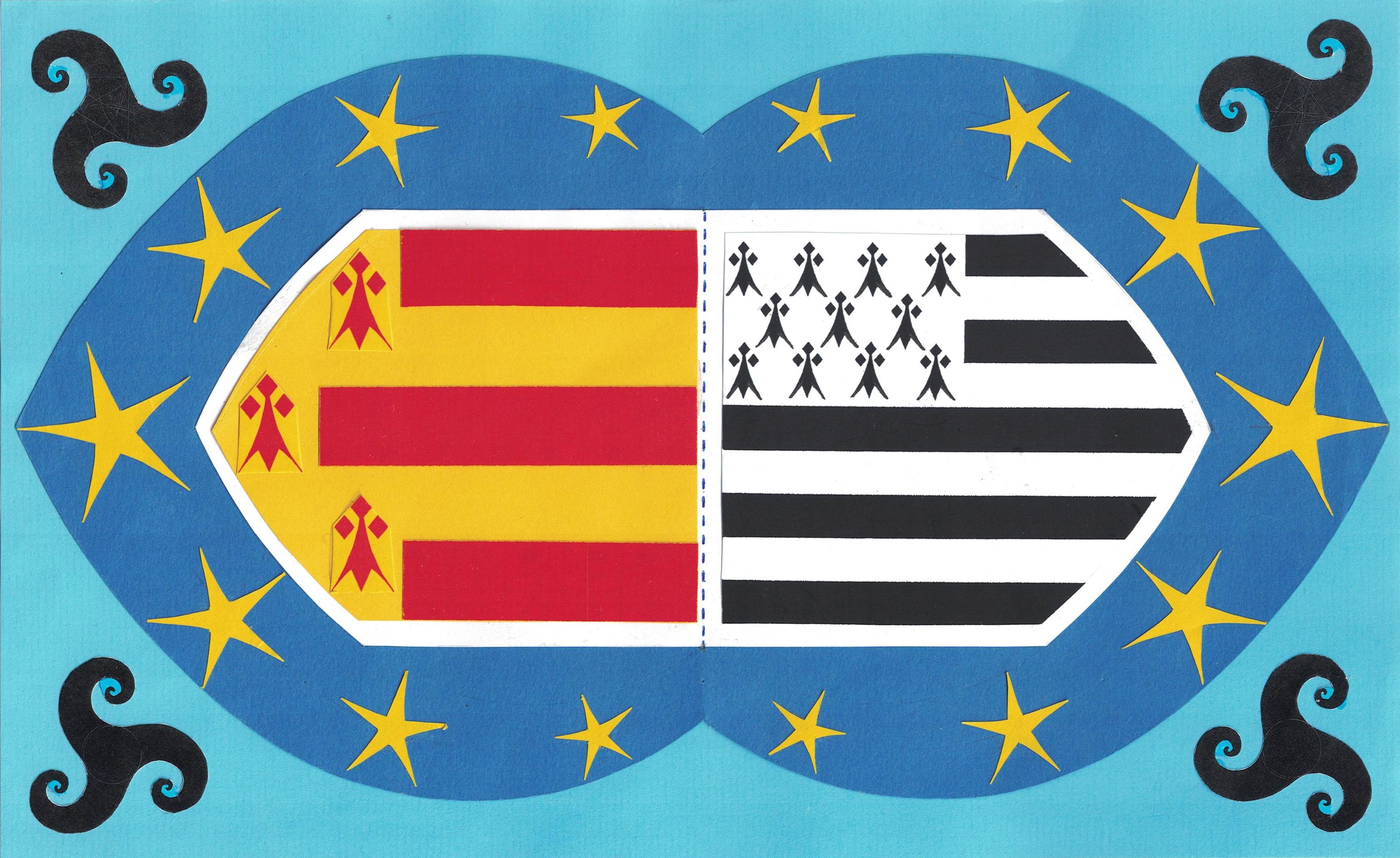 drapeau bigouden breton