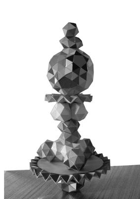 superposition de polyèdres